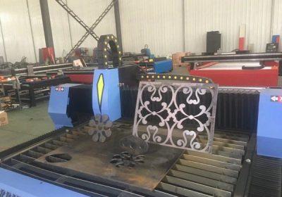 Vânzare fierbinte de masă de tip masina cu plasmă mașină de tăiat CNC